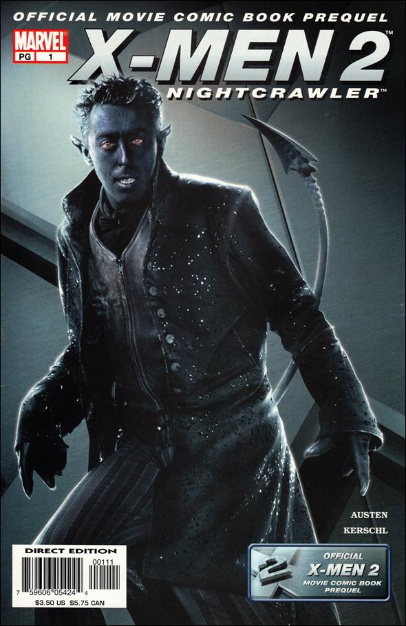 X-Men 2 Prequel: Nightcrawler 1-A by Marvel