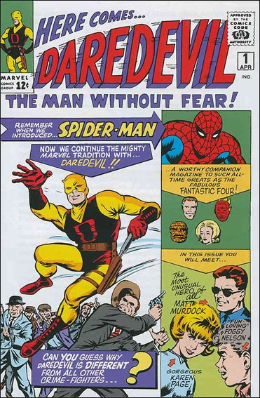 Daredevil (1964) 1-A by Marvel
