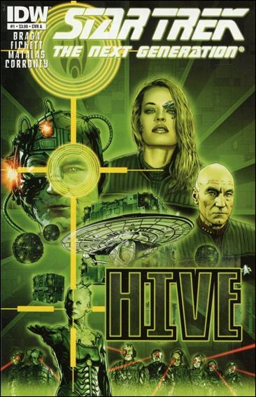 Star Trek: The Next Generation: Hive 1-A by IDW