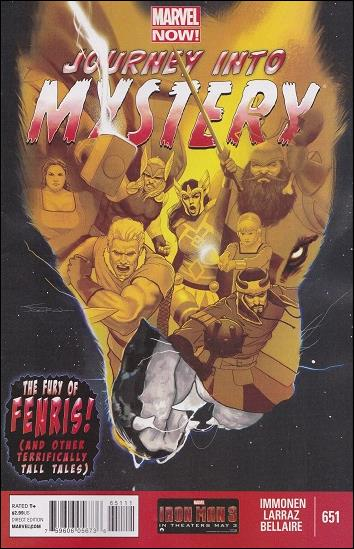 Journey into Mystery (1952) 651-A by Marvel