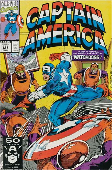 Captain America (1968) 385-A by Marvel