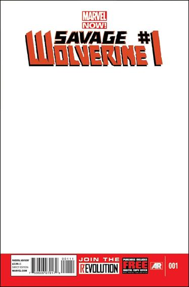 Savage Wolverine 1-F by Marvel