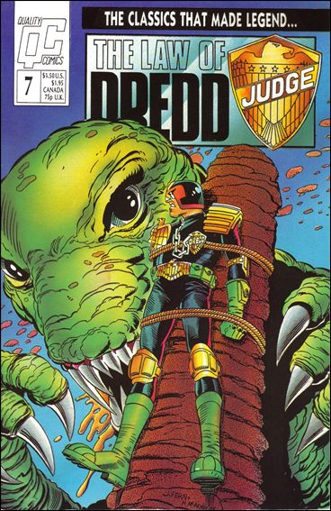Law of Dredd 7-A by Fleetway Quality
