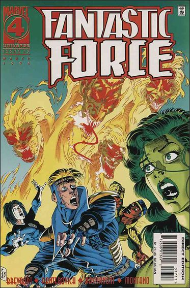 Fantastic Force (1994) 17-A by Marvel