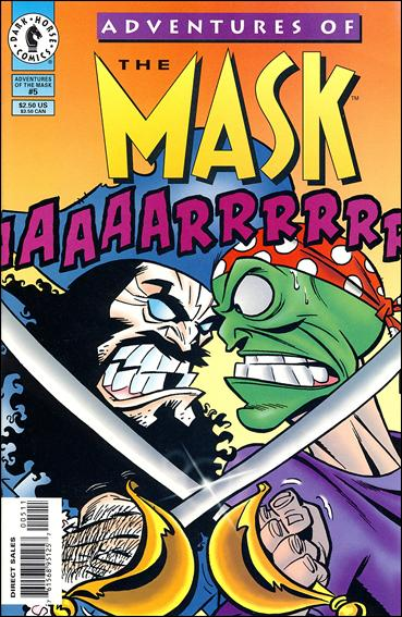 Adventures of the Mask 5-A by Dark Horse