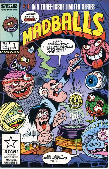 Madballs 1-A by Star