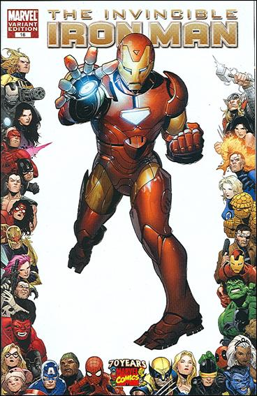 Invincible Iron Man (2008) 16-B by Marvel