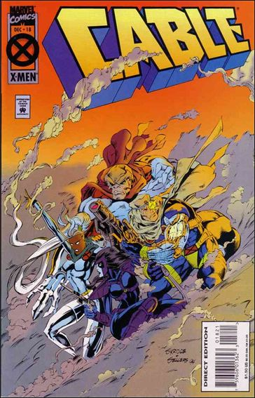 Cable (1993) 18-B by Marvel