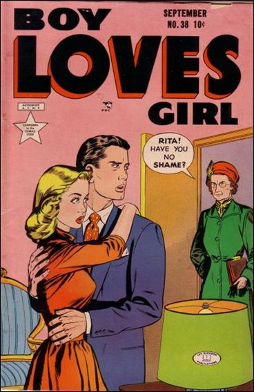 Boy Loves Girl 38-A by Lev Gleason Productions