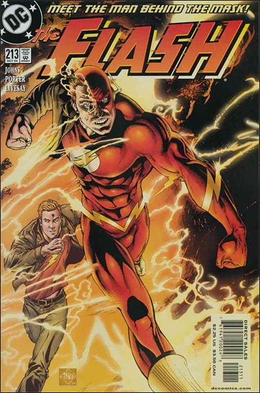 Flash (1987) 213-A by DC