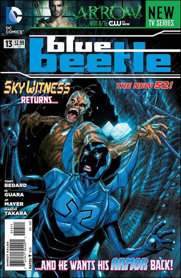 Blue Beetle (2011) 13-A by DC