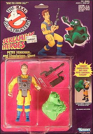 The Real Ghostbusters Action Figure Screaming Heros Peter Venkman