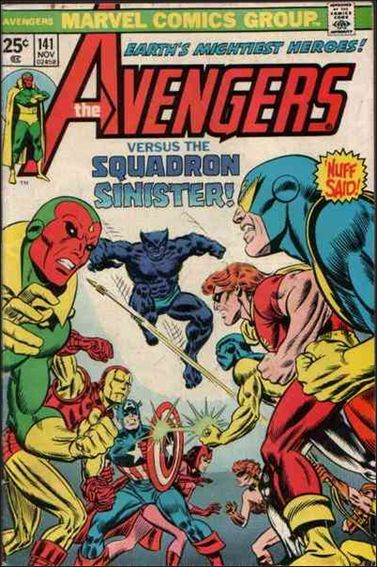Avengers (1963) 141-A by Marvel