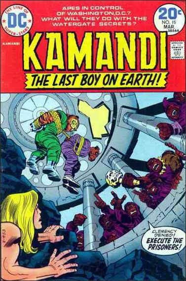 Kamandi, the Last Boy on Earth 15-A by DC