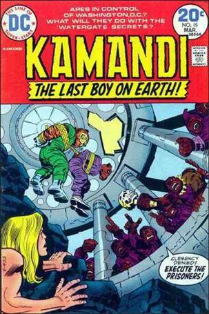 Kamandi, the Last Boy on Earth 15-A