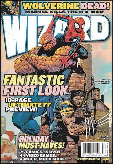Wizard: The Comics Magazine 146-A by Wizard Press