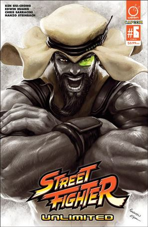 Street Fighter Unlimited 6-D