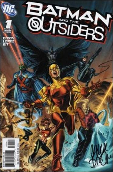 Batman and the Outsiders (2007) 1-C by DC
