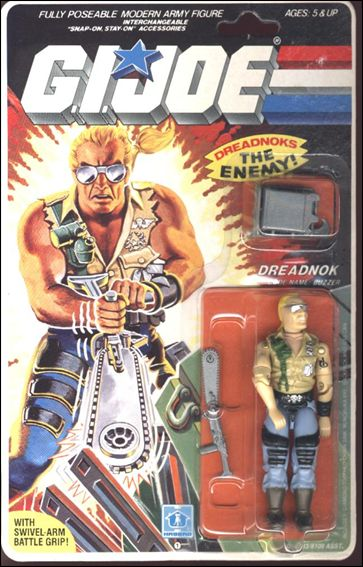 "G.I. Joe: A Real American Hero 3 3/4"" Basic Action Figures Buzzer (Dreadnok) by Hasbro"