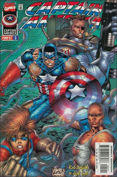 Captain America (1996) 5-A by Marvel