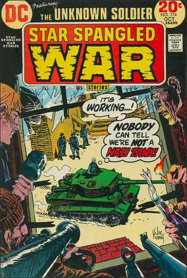 Star Spangled War Stories (1952) 174-A by DC