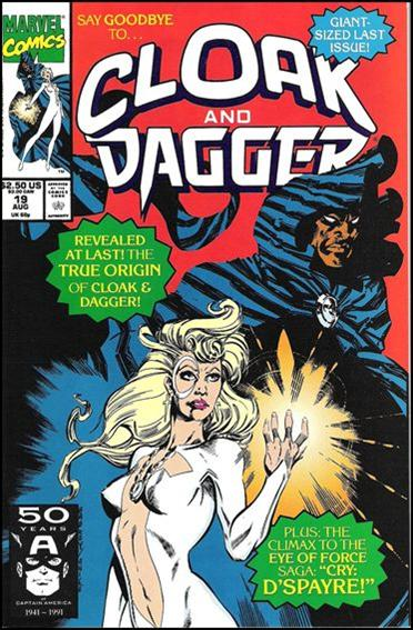 Cloak and Dagger (1990) 19-A by Marvel