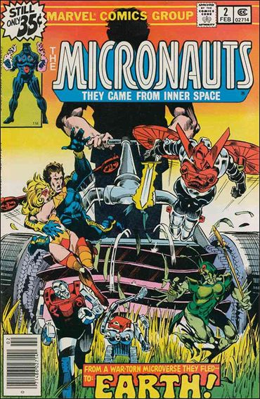 Micronauts (1979) 2-A by Marvel