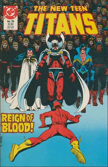 New Teen Titans (1984) 29-A by DC