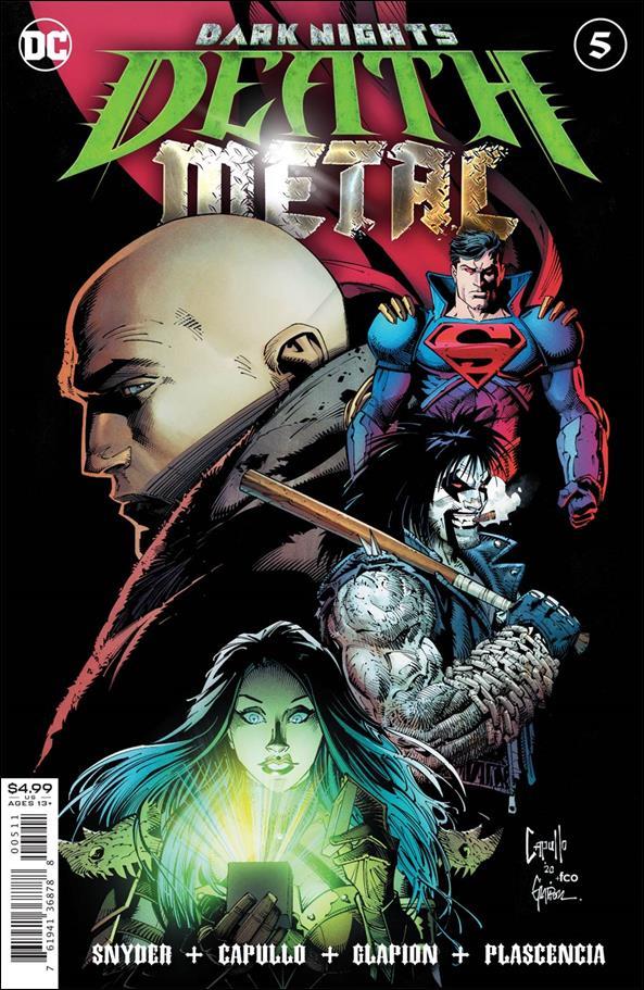 Dark Nights: Death Metal 5-A by DC