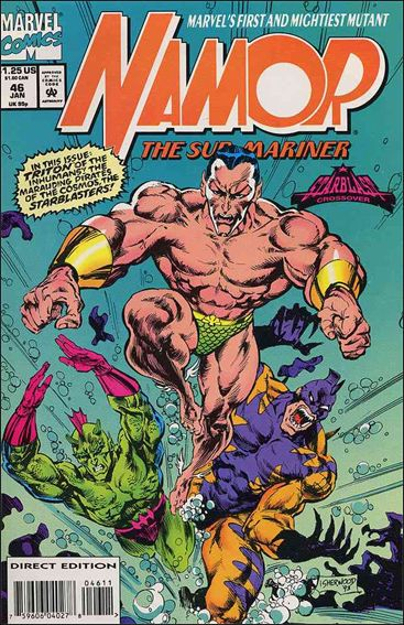 Namor: The Sub-Mariner 46-A by Marvel
