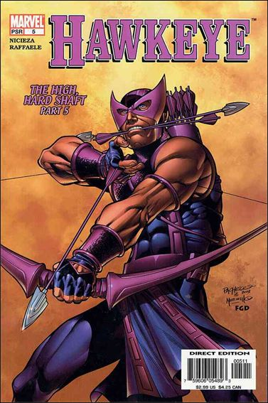 Hawkeye (2003) 5-A by Marvel
