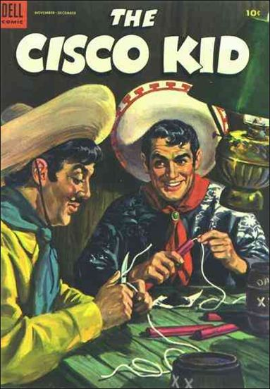 Cisco Kid (1951) 18-A by Dell