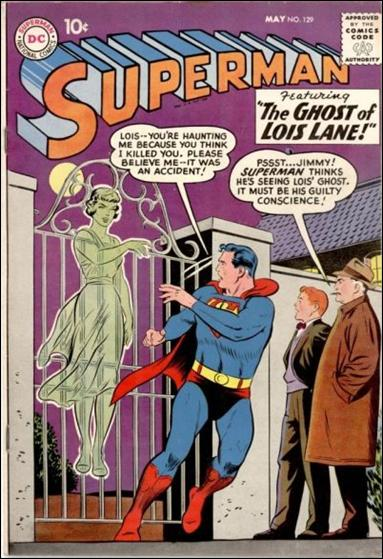 Superman (1939) 129-A by DC