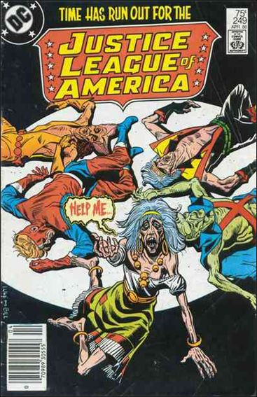 Justice League of America (1960) 249-A by DC