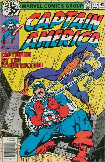 Captain America (1968) 228-A by Marvel