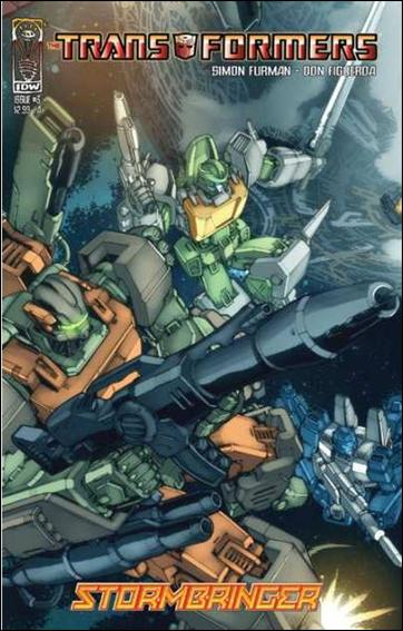 Transformers: Stormbringer 3-A by IDW