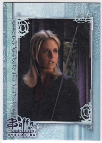 Buffy the Vampire Slayer: Evolution (Base Set) 11-A by Inkworks