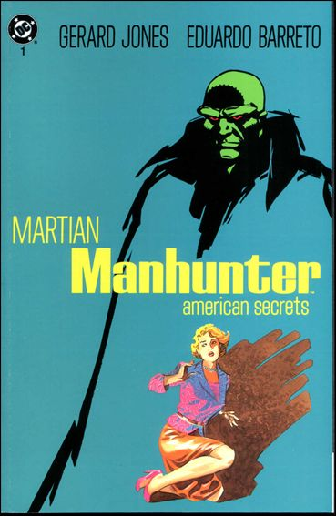 Martian Manhunter: American Secrets 1-A by DC