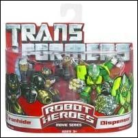 Transformers: Robot Heroes Ironhide & Dispensor by Hasbro