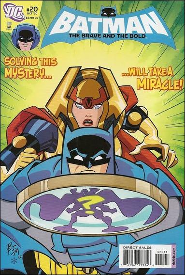 Batman: The Brave and the Bold 20-A by DC