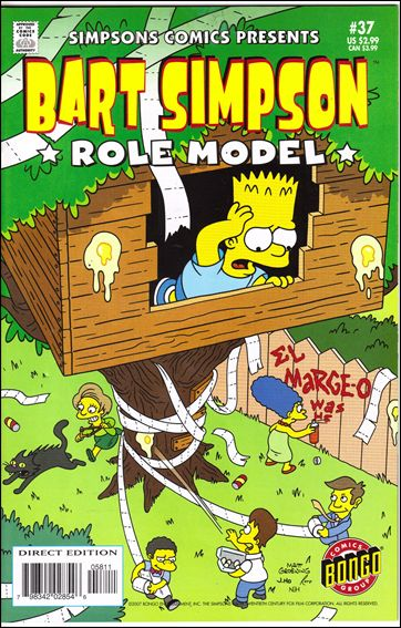 Simpsons Comics Presents Bart Simpson 37-A by Bongo