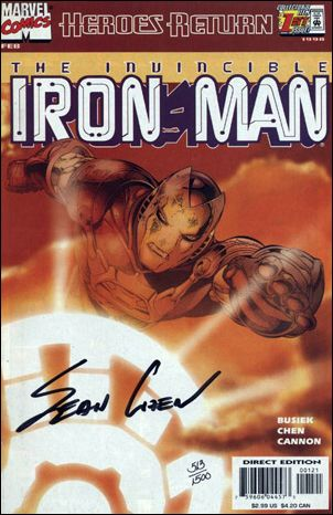Iron Man (1998) 1-C by Marvel