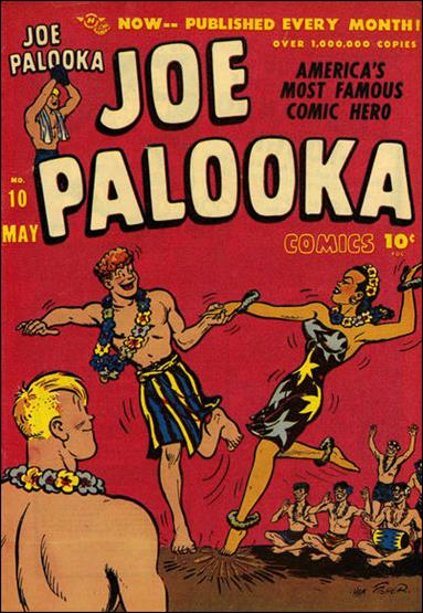 Joe Palooka (1945) 10-A by Harvey
