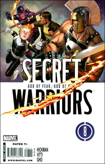 Secret Warriors 8-A by Marvel