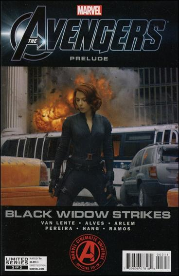 Marvel's The Avengers: Black Widow Strikes 3-A by Marvel