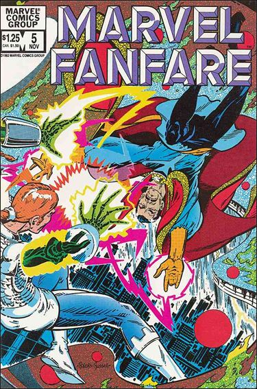 Marvel Fanfare (1982) 5-A by Marvel