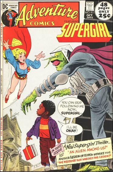 Adventure Comics (1938) 411-A by DC