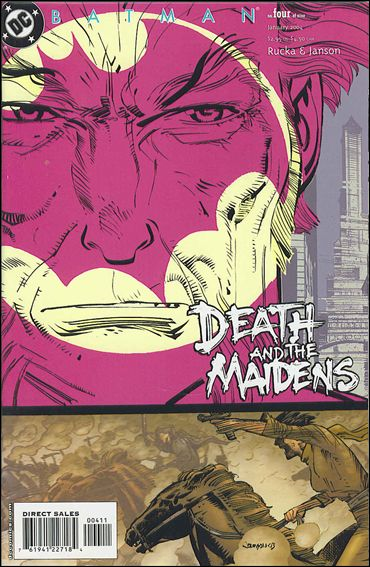 Batman: Death and the Maidens 4-A by DC