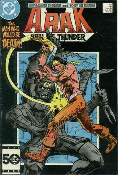 Arak Son of Thunder 44-A by DC