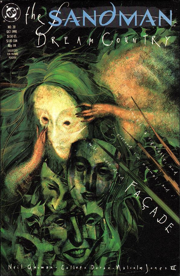 Sandman (1989) 20-A by Vertigo